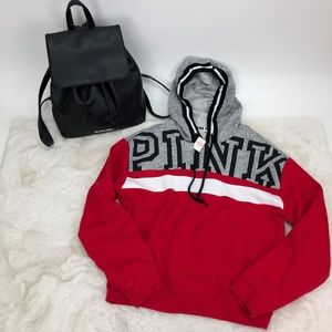 Pink Victoria's Secret Hoodie Backpack VS Bundle.
